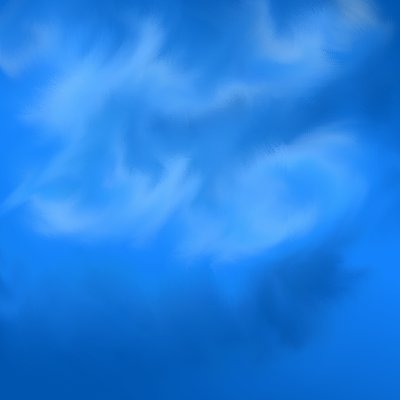 Retouch - Clouds  example 2